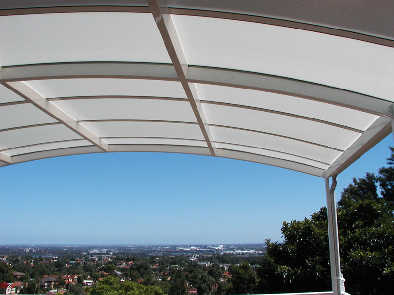 Another huge attraction about using polycarbonate sheets for awnings is that they are available in a range of different colour options